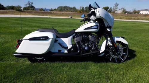 2019 Indian Chieftain Dark Horse® White Smoke -- White for sale craigslist